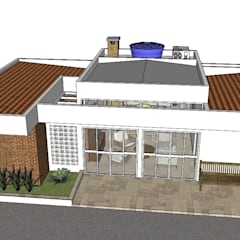 Projekty,  Domy zaprojektowane przez Natali de Mello - Arquitetura e Arte