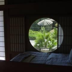 ZEN-Garten im Tessin:  Fenster von japan-garten-kultur