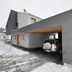 Garage/shed by Pakula & Fischer Architekten GmnH
