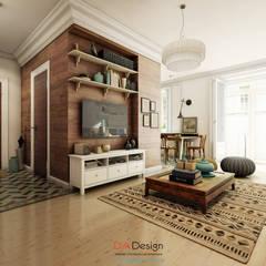 غرفة المعيشة تنفيذ DA-Design
