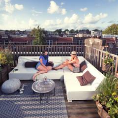 Dakterras.nl project Amsterdam Oud-Zuid:  Terras door Dakterras.nl, Mediterraan