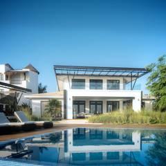 Garden Pool by sanzpont [arquitectura]