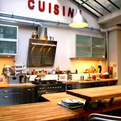 Cocinas de estilo  por Cabinet Dario, Industrial
