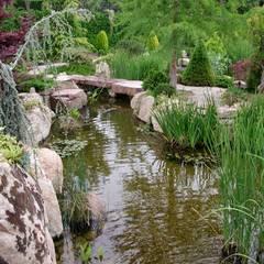Estanque : Jardines de estilo  de La ermita de Pozuelo