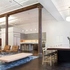 Greene Street Loft:  Dressing room by Slade Architecture