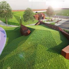 Stade du Merlan: Stades de style  par NAOM