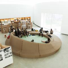 제4회 안양공공예술프로젝트 프로그램의 공간화 / The 4th APAP (Anyang Public Art Project) The Spatialisation of Program: lokaldesign의  전시장