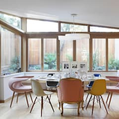 Private House Refurbishment in Primrose Hill, London:  Dining room by AR Architecture, Modern