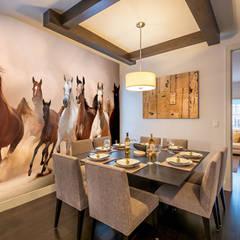 Herd of Horses Panoramic:  Walls by Wallsauce.com