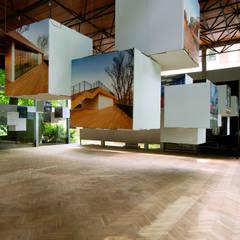 Wystawa Nagrody Roku Stowarzyszenia Architektów Polskich : styl , w kategorii Centra wystawowe zaprojektowany przez Designlab