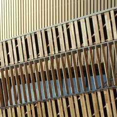 Jeux de Rythmes dans la façade: Palais des congrès de style  par H2A - Ir Architecte & Associés