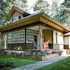 dom w Wawrze : styl , w kategorii Domy zaprojektowany przez Marek Rytych