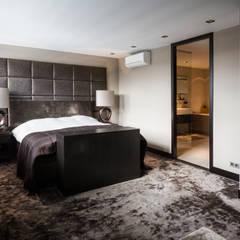 Master bedroom:  Slaapkamer door BB Interior