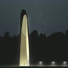 Центр ночью: Конференц-центры в . Автор – Megabudka