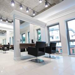 Salon fryzjerski Lorea'l: styl , w kategorii Spa zaprojektowany przez Paszkiewicz Design