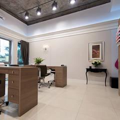 Gabinet manicure: styl , w kategorii Spa zaprojektowany przez Paszkiewicz Design