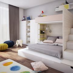 minimalistic Nursery/kid's room by DA-Design