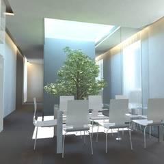 Ruang Makan Minimalis Oleh gk architetti (Carlo Andrea Gorelli+Keiko Kondo) Minimalis