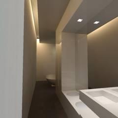 Kamar Mandi Minimalis Oleh gk architetti (Carlo Andrea Gorelli+Keiko Kondo) Minimalis