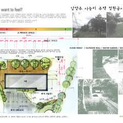 남양주 사능리 자전거도로 휴게소 정원공사 기본계획안: Urban Garden AIN.Ltd의  정원