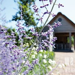 WENZdesign Poolhouse: landelijke Garage/schuur door WENZdesign
