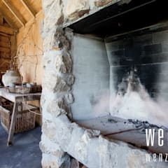 WENZdesign Poolhouse:  Serre door WENZdesign