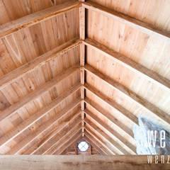 WENZdesign Poolhouse:  Huizen door WENZdesign,