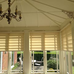 Duo Blinds: minimalistic Conservatory by louise.r