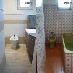 Appartamento Al Mare - Andora: Bagno in stile  di Architetti di Casa