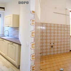 Appartamento Al Mare - Andora: Cucina in stile in stile Coloniale di Architetti di Casa