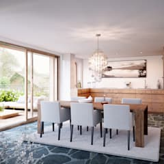 Dining room by von Mann Architektur GmbH