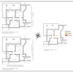 Appartamento Al Mare - Andora: Cucina in stile  di Architetti di Casa