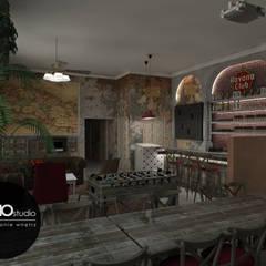 Kubański temperament: styl , w kategorii Hotele zaprojektowany przez MONOstudio