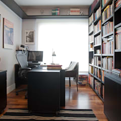 Study/office by Pereira Reade Interiores