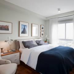 غرفة نوم تنفيذ Pereira Reade Interiores