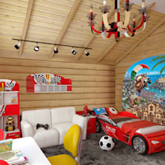 Nursery/kid's room by архитектор-дизайнер Алтоцкий Михаил (Altotskiy Mikhail),