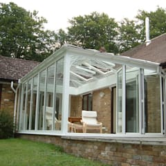 SUNFLEX Aluminiumsysteme GmbH의  실내 정원, 클래식