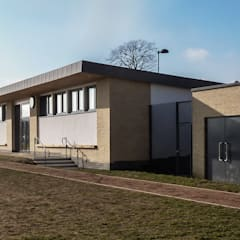 Sports Pavilion for School:  Schools by Cayford Architecture Ltd