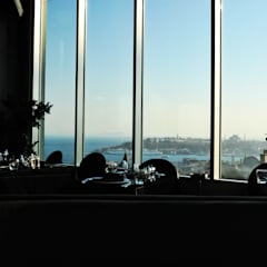 360istanbul – 360 Istanbul Lounge view to the Old City:  tarz Yeme & İçme