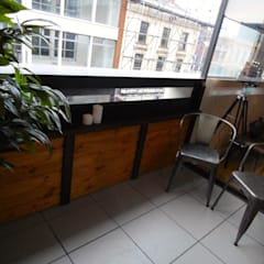 City Centre Apartment, Northern Quarter, Manchester, UK:  Terrace by Flawless Concepts Ltd