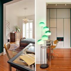 Apartamento A3_Reabilitação Arquitectura + Design Interiores: Closets  por Tiago Patricio Rodrigues, Arquitectura e Interiores,