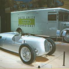 Büssing NAG Rennwagentransporter der Autounion Silberpfeile:  Museen von DIE DREI Malchus, Hückmann, Olivier GbR