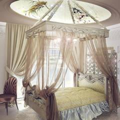 """LORA BERGIY """"daughter room"""": Спальни в . Автор – 3D_DESIGNER_ALLA, Эклектичный"""