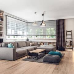 Dom prywatny 2013: styl , w kategorii Salon zaprojektowany przez formativ. indywidualne projekty wnętrz