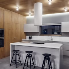 Cocinas de estilo  por formativ. indywidualne projekty wnętrz, Industrial