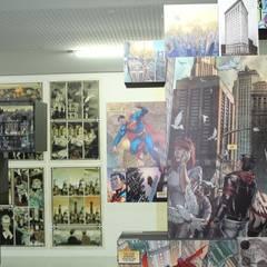 La maison des super-héros: Musées de style  par KeurK