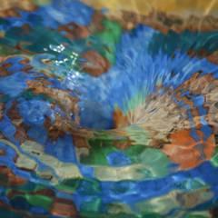 Tuinfonteinen:  Tuin door Pottenbakkerij Heksenvuur