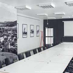 CENTRUM KONFERENCYJNE // Stacja Kultura dworzec w Rumi: styl , w kategorii Centra kongresowe zaprojektowany przez Sikora Wnetrza