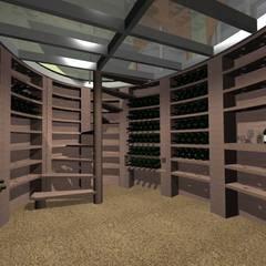 Spiralweinkeller: klassischer Weinkeller von JMF