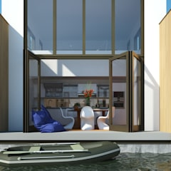 Orangerie: moderne Serre door M&M Watervilla